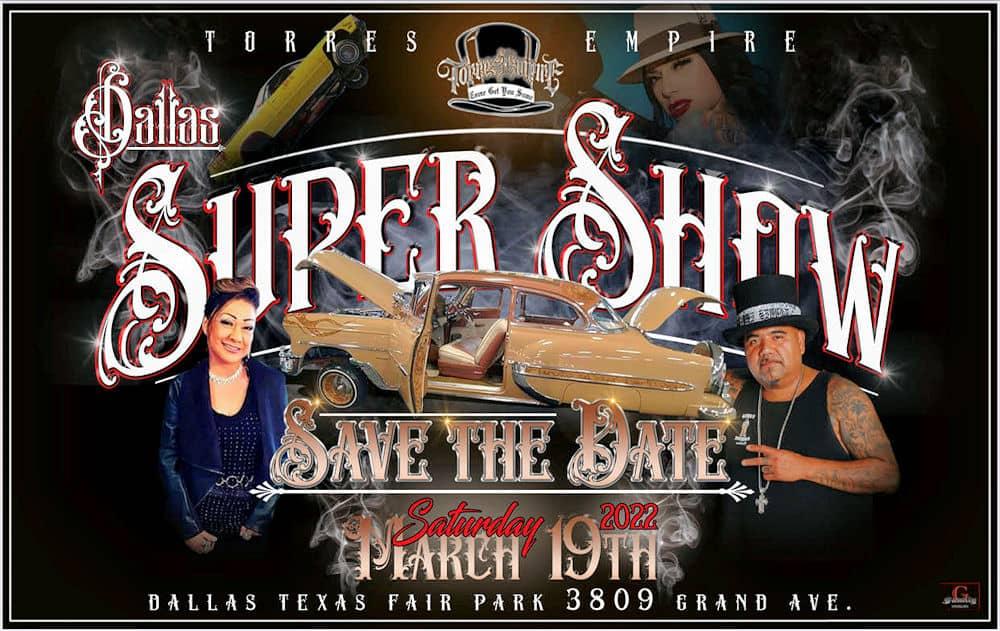 2021 Dallas Supershow Car Lowrider Show